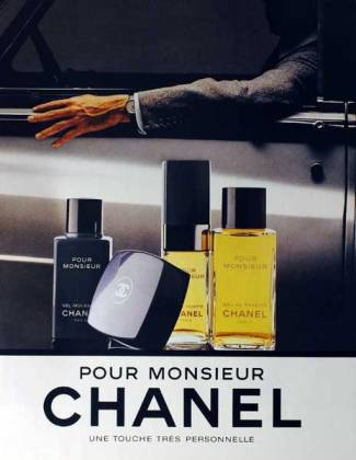 ERIK ZWAGA GEURENGOEROE POUR MONSIEUR CHANEL OLD AD2