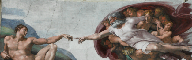A BREATH OF GOD BY MICHELANGELO