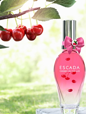 ERIK ZWAGA GEURENGOEROE CHERRY IN THE AIR ESCADA BOTTLE