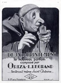 ERIK ZWAGA GEURENGOEROE DEJA LE PRINTEMPS ORIZA L. LEGRAND OLD AD