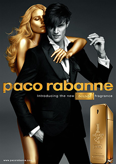 ERIK ZWAGA GEURENGOEROE 1 MILLION INTENSE PACO RABANNE VISUAL