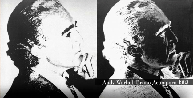 BLU BRUNO ACAMPORA ANDY WARHOL