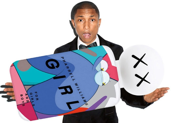 GIRL PHARRELL WILLIAMS FLACON
