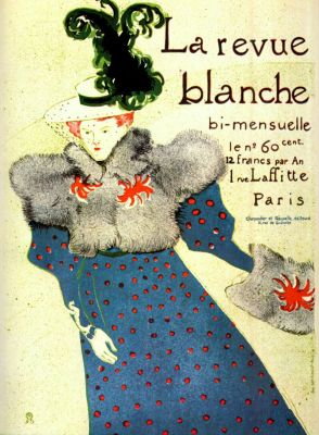 LA REVUE BLANCHE TOULOUSE LAUTREC MISIA SERT 1895