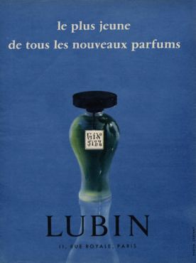 GIN FIZZ LUBIN OLD AD 2
