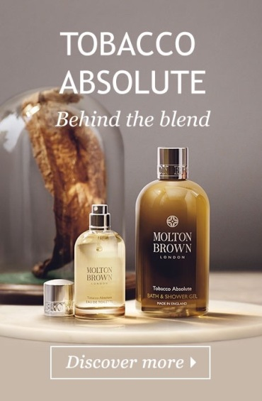 TOBACCO ABSOLUTE MOLTON BROWN BOTTLE