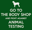 THE BODY SHOP ANIMAL TESTING