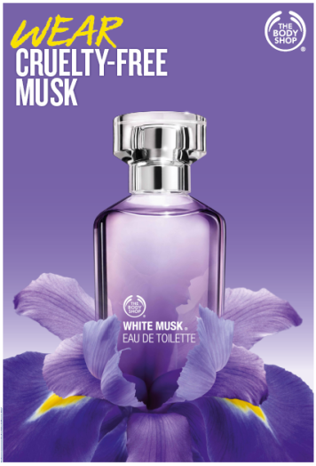 WHITE MUSK THE BODY SHOP
