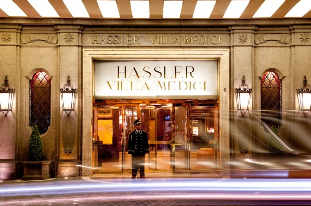 Hotel Hassler, Rome, Italy