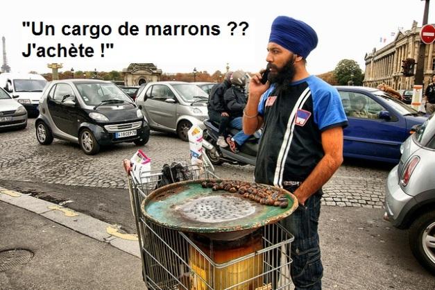 VENDEUR DE MARRONS