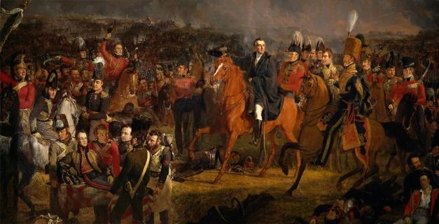 De Slag bij Waterloo Pieneman