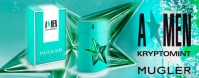 THIERRY MUGLER A*MEN KRYPTOMINT LOGO
