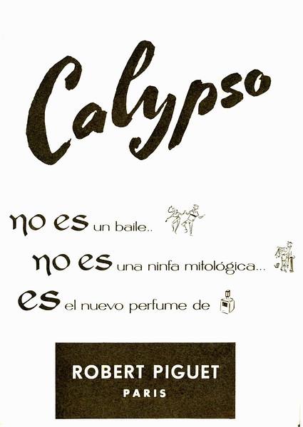 CALYPSO VINTAGE PERFUME SPAIN